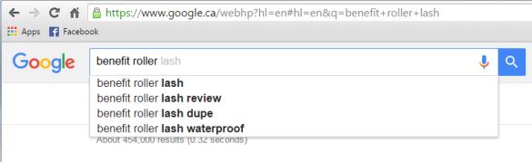 benefit roller lash google search